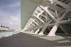 美术馆科学巴伦西亚 免版税图库摄影