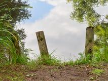Естественное ворот - метафора психологии Стоковая Фотография
