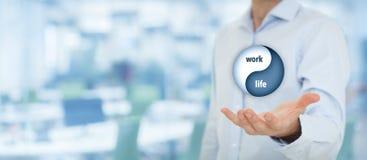 Ισορροπία ζωής εργασίας Στοκ εικόνα με δικαίωμα ελεύθερης χρήσης
