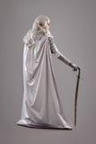 рыцарь панцыря женский светя Стоковое Фото