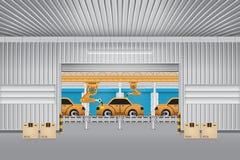 Автомобиль робота Стоковое Изображение