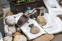 对犹太受害者的纪念品自由广场的 免版税库存图片