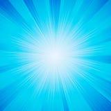 глянцеватый вектор солнца Стоковое Изображение RF