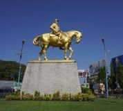 昂山将军的纪念碑 库存图片