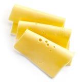 切的干酪 免版税库存图片