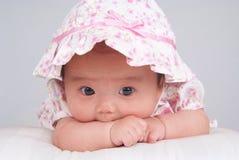 младенец довольно Стоковое Фото