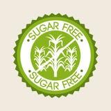 свободный сахар Стоковое Изображение