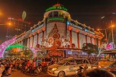 越南-胡志明市-西贡 免版税库存照片