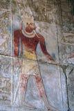 αιγυπτιακό ανάγλυφο Στοκ φωτογραφίες με δικαίωμα ελεύθερης χρήσης