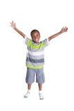 年轻学校年迈的男孩 图库摄影