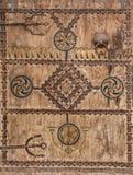 古老门,摩洛哥 免版税图库摄影