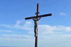 照顾玛丽(耶稣)雕象教会宗教基督教 库存照片