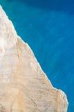 海运和岩石 库存照片