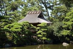 Японский дом чая Стоковое Фото