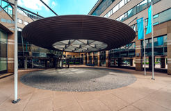 现代办公楼在艾恩德霍芬 库存图片