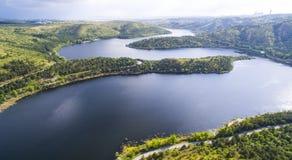 湖 免版税图库摄影