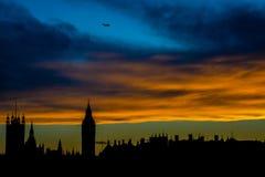 ορίζοντας του Λονδίνου απεικόνισης σχεδίου εσείς Στοκ Φωτογραφία