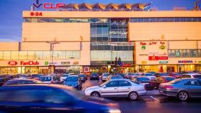 维尔纽斯购物中心 免版税库存照片