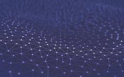Абстрактная технология науки предпосылки Стоковое фото RF