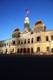 Πόλη Χο Τσι Μινχ - Βιετνάμ - κτήριο Επιτροπής των ανθρώπων Στοκ εικόνα με δικαίωμα ελεύθερης χρήσης