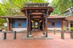 林家人庭院在台北,台湾 免版税库存照片
