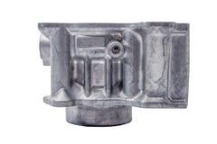 摩托车水冷的引擎圆筒 库存图片
