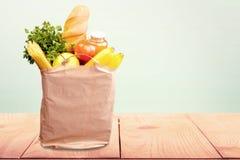 Τσάντα παντοπωλείων Στοκ Εικόνες
