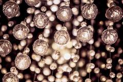 Πολυέλαιος κρυστάλλου στο εκλεκτής ποιότητας φίλτρο χρώματος Στοκ φωτογραφία με δικαίωμα ελεύθερης χρήσης