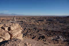 死亡谷,阿塔卡马沙漠,智利 库存图片