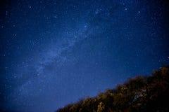 заволакивает звезды неба принципиальной схемы Стоковое фото RF