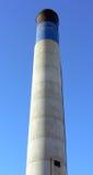 черная голубая белизна печной трубы Стоковые Фото