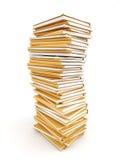 文件堆 库存图片