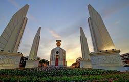 民主纪念碑曼谷泰国 库存照片