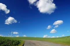 乡下公路 免版税图库摄影