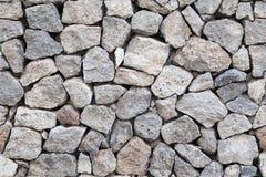 Άνευ ραφής τοίχος πετρών γρανίτη υποβάθρου γκρίζος Στοκ Εικόνα