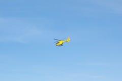 Вертолет спасения летания непредвиденный Стоковая Фотография
