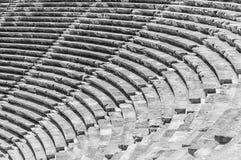 旁边圆形露天剧场步 库存图片