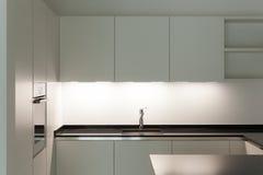Εσωτερική, εσωτερική κουζίνα Στοκ εικόνες με δικαίωμα ελεύθερης χρήσης