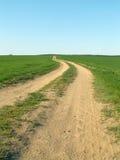 путь поля Стоковые Изображения RF