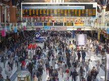 利物浦街驻地在伦敦 免版税库存图片