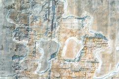 Συμπαγής τοίχος, ζημία παγετού Στοκ Φωτογραφίες