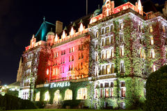 女皇旅馆在维多利亚,不列颠哥伦比亚省,加拿大 库存图片