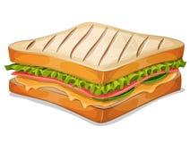 法国三明治象 免版税库存图片