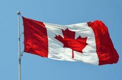 καναδική σημαία Στοκ Φωτογραφίες