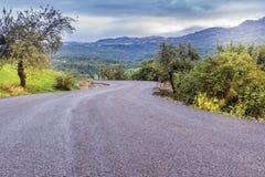 Горы сельской местности Стоковое Фото