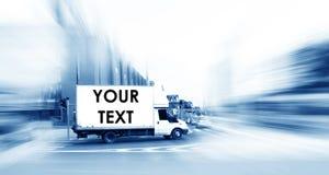 спешка часа города абстрактной рекламы большая ваша Стоковое Изображение RF
