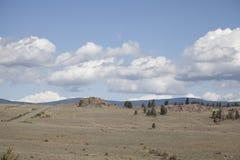 Дорога в скалистых горах Стоковые Фотографии RF