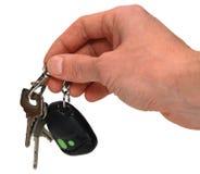 автоматические ключи руки Стоковое Изображение