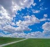 ουρανός μονοπατιών Στοκ φωτογραφία με δικαίωμα ελεύθερης χρήσης