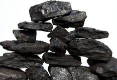 στοίβα άνθρακα Στοκ φωτογραφίες με δικαίωμα ελεύθερης χρήσης